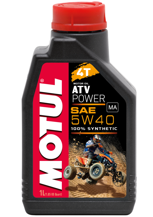 Моторное масло MOTUL (Мотюль) ATV POWER 4T, SAE 5W40 (4л)
